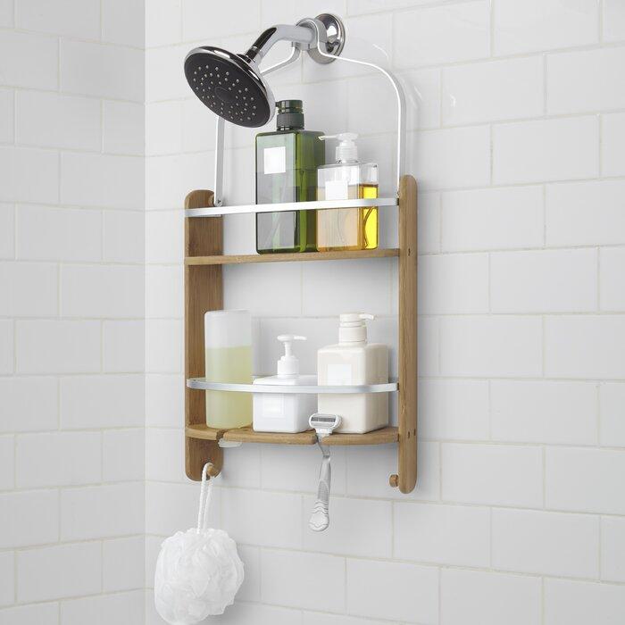 Umbra Barrel Wood Hanging Shower Caddy & Reviews | Wayfair.ca