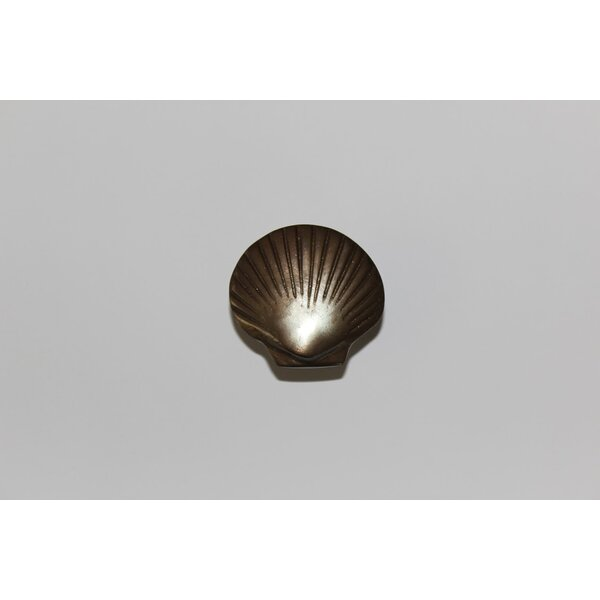 Scallop Shell Novelty Knob (Set of 6) by The Copper Factory