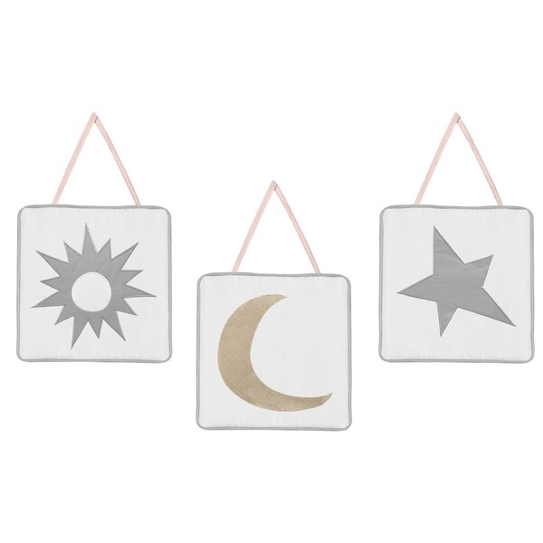 Celestial Tapestry and Wall Hanging (Set of 3) by Sweet Jojo Designs