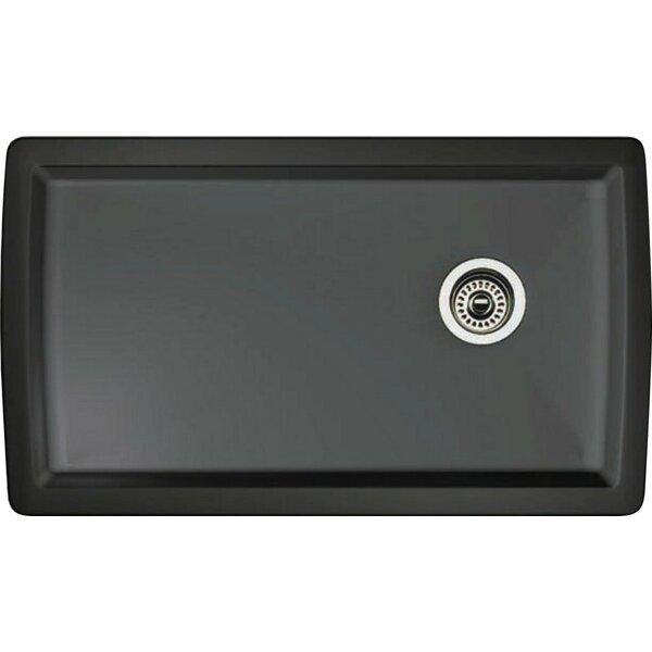 Diamond 33.5 L x 18.5 W Undermount Kitchen Sink by