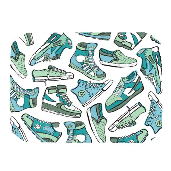 Sneaker Lover III Placemat by KESS InHouse