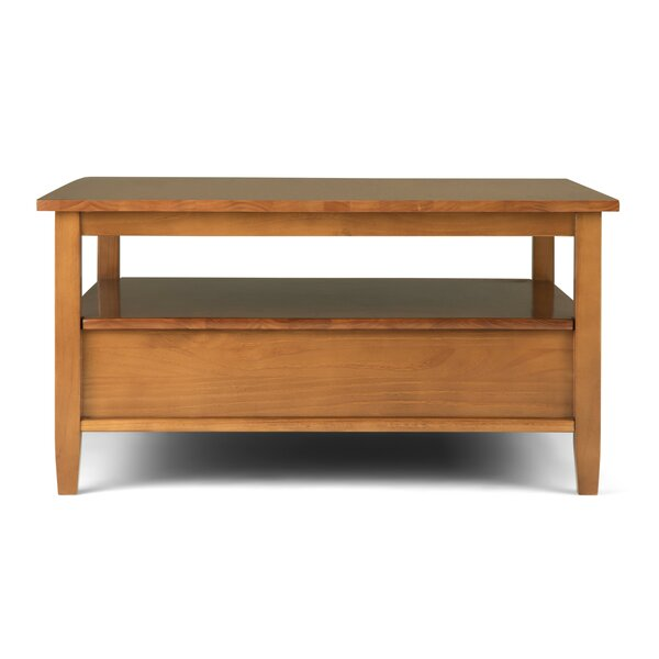 Mclea Coffee Table With Tray Top