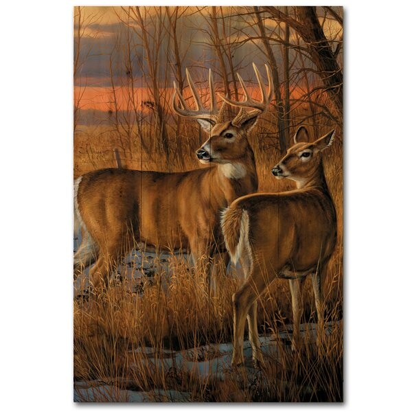 Day Break by Rosemary Millette Painting Print Plaque by WGI-GALLERY