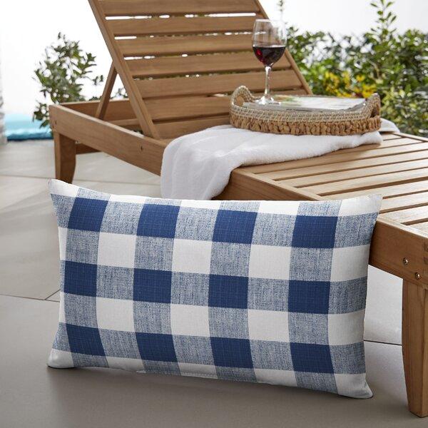 Bolding Buffalo Outdoor Lumbar Pillow by Mozaic Company