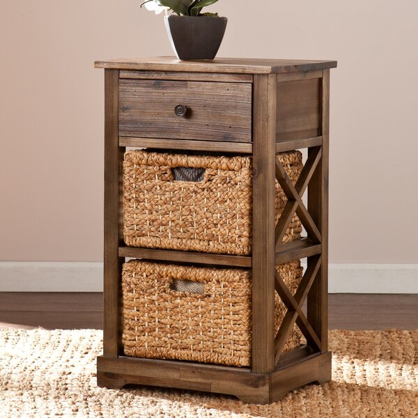 Mcmurry 1 Drawer End Table by Three Posts