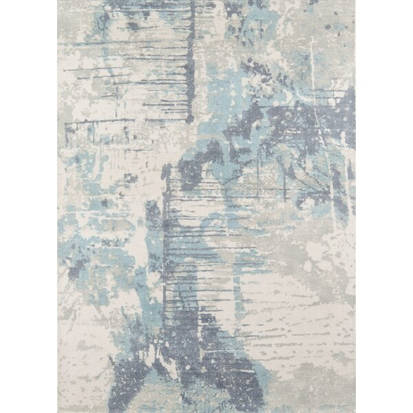 Stanford Hand-Tufted Wool Blue Area Rug by Trent Austin Design