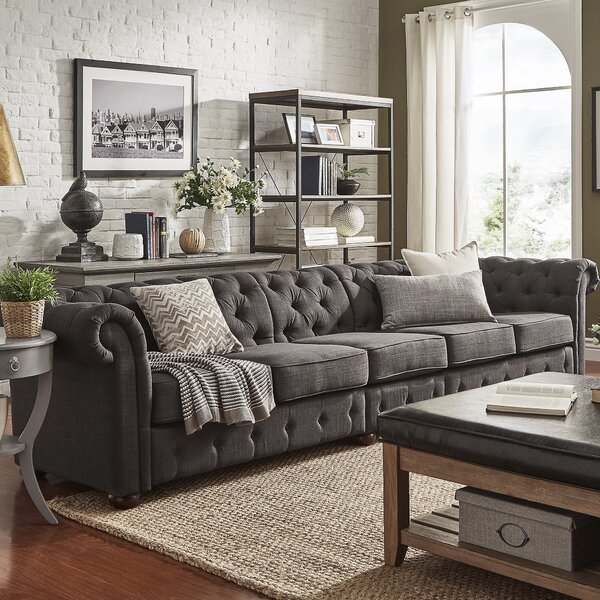 Find A Wide Selection Of Gowans Chesterfield Sofa Surprise! 65% Off
