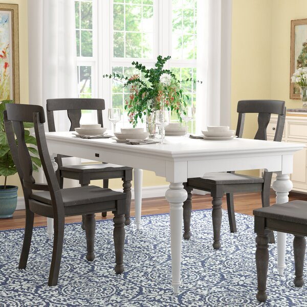 Westmont Solid Wood Dining Table by Darby Home Co