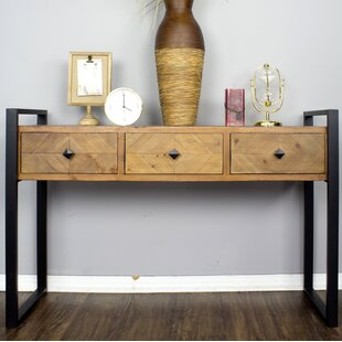 Delphine 3 Drawer Console Table