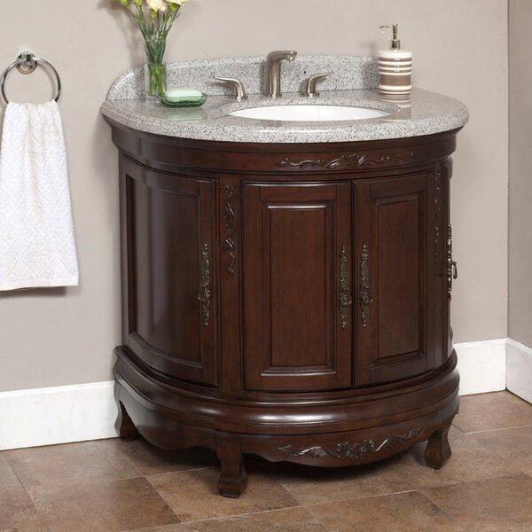 Moon 35 Single Bathroom Vanity Set by Lanza