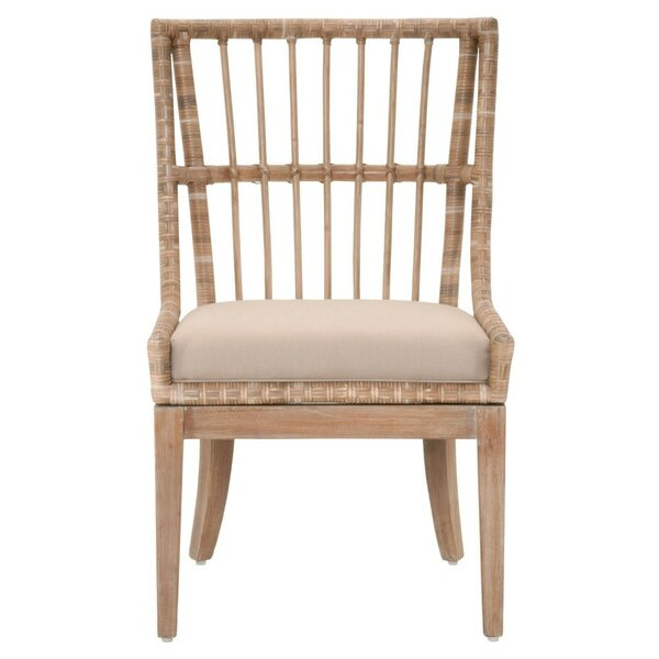 Hahn Solid Wood Dining Chair (Set of 2) by Bayou Breeze