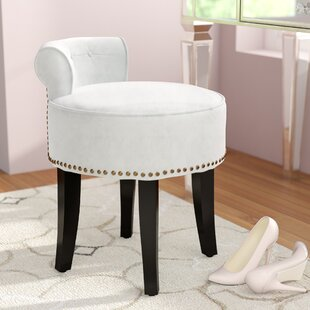Top Martinez Vanity Stool By Willa Arlo Interiors