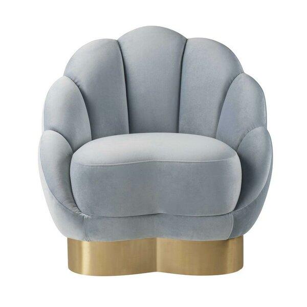 Newbury Barrel Chair by Everly Quinn
