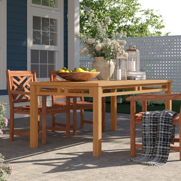 Calila Teak Dining Table by Birch Lane™ Heritage