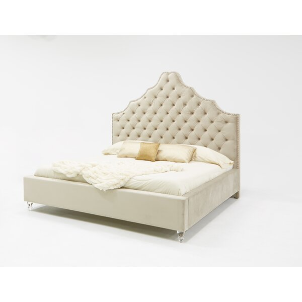 Guerra Fabric Upholstered Platform Bed by Rosdorf Park