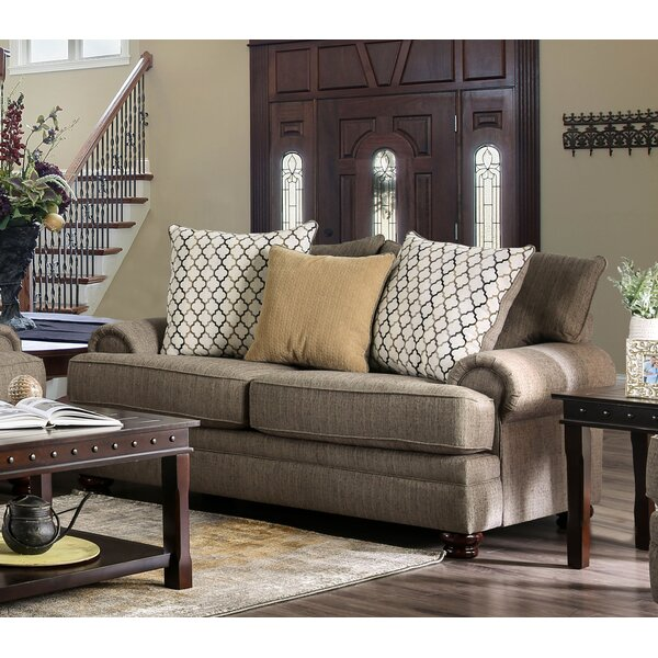 Warnell Loveseat by Canora Grey