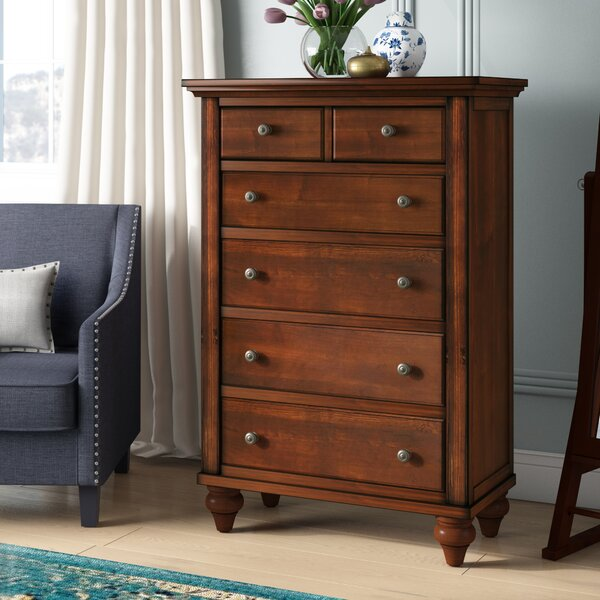 Verrett 6 Drawer Media Chest by Darby Home Co