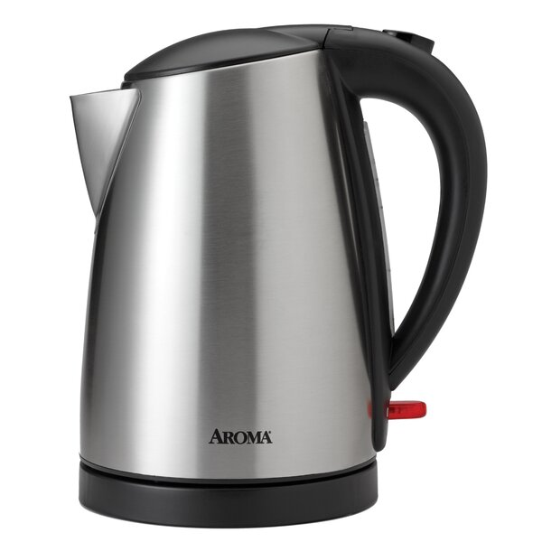 1.75-qt. Stainless Steel Electric Kettle by Aroma