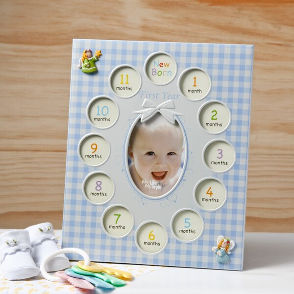 Baby Boys First Year Collage Picture Frame by Fashion Craft