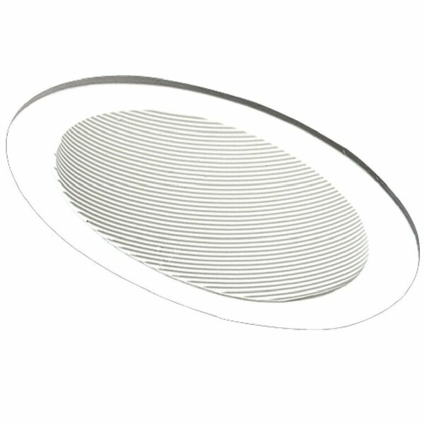 Slope Ceiling Baffle 6 Recessed Trim by Elco Lighting