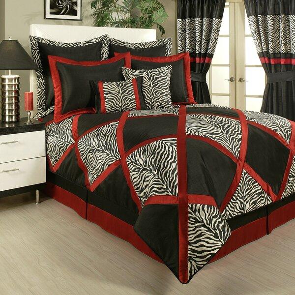 Ogorman 4 Piece Comforter Set