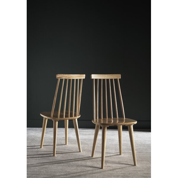 Spindle Slat Back Side Chair (Set Of 2) By Hashtag Home