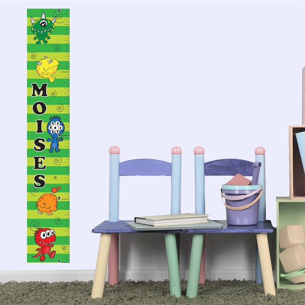 Monster Boy Growth Chart by Mona Melisa Designs
