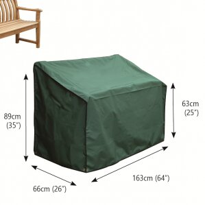 Premier 3-Seater Bench Cover by Bosmere