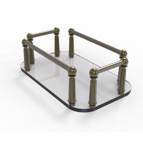 Vanity Top Wall Mount Soap Dish by Allied Brass