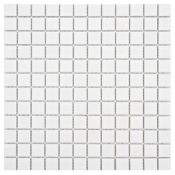 Arctic 0.91 x 0.91 Porcelain Mosaic Tile in White by EliteTile