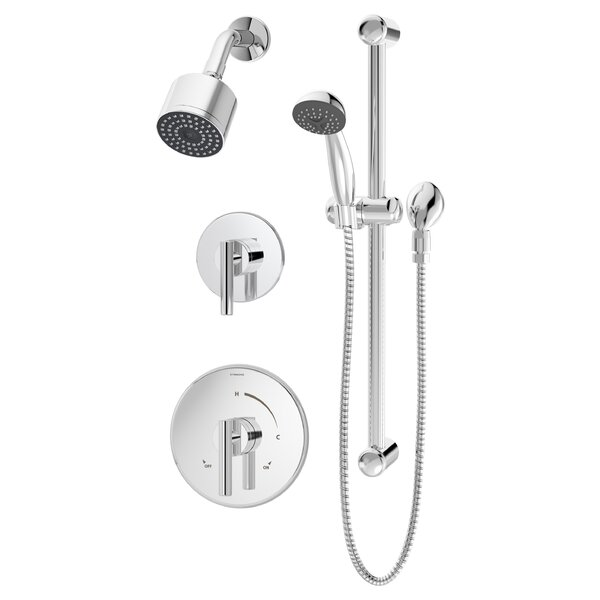 Dia Diverter Complete Shower System By Symmons
