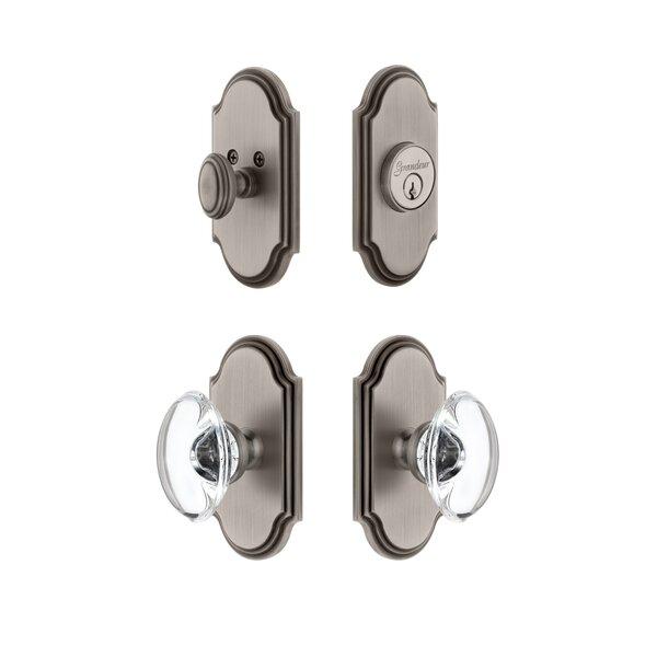 Arc Single Cylinder Knob Combo Pack by Grandeur