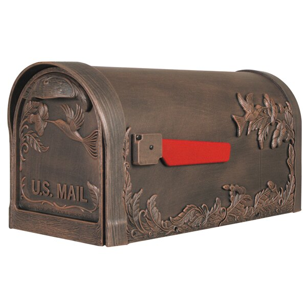 Hummingbird Post Mounted Mailbox by Special Lite Products