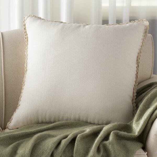 Guerrette Linen Throw Pillow by Lark Manor
