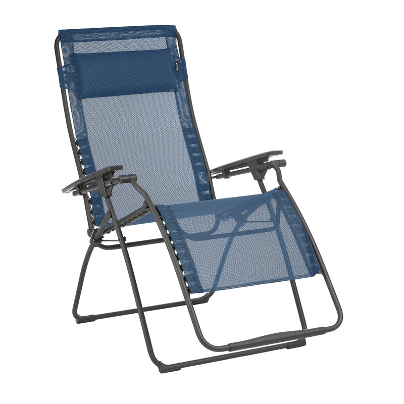 Kamp-Rite Soft Arm Folding Chaise Lounge Chair
