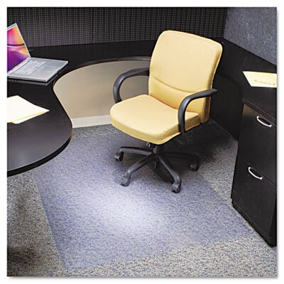 Rectangle Chair Mat, Multi-Task Series Anchorbar for Carpet Up To 0.38 by ES Robbins Corporation