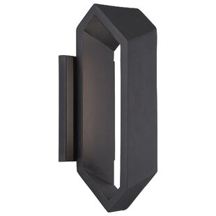 Searching for Domingo 1-Light Outdoor Sconce By Brayden Studio