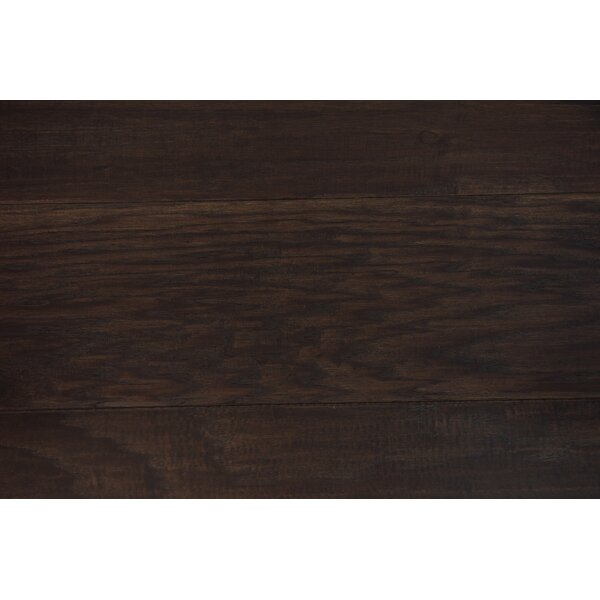 Sydney 7-1/2 Engineered Hickory Hardwood Flooring in Espresso by Branton Flooring Collection
