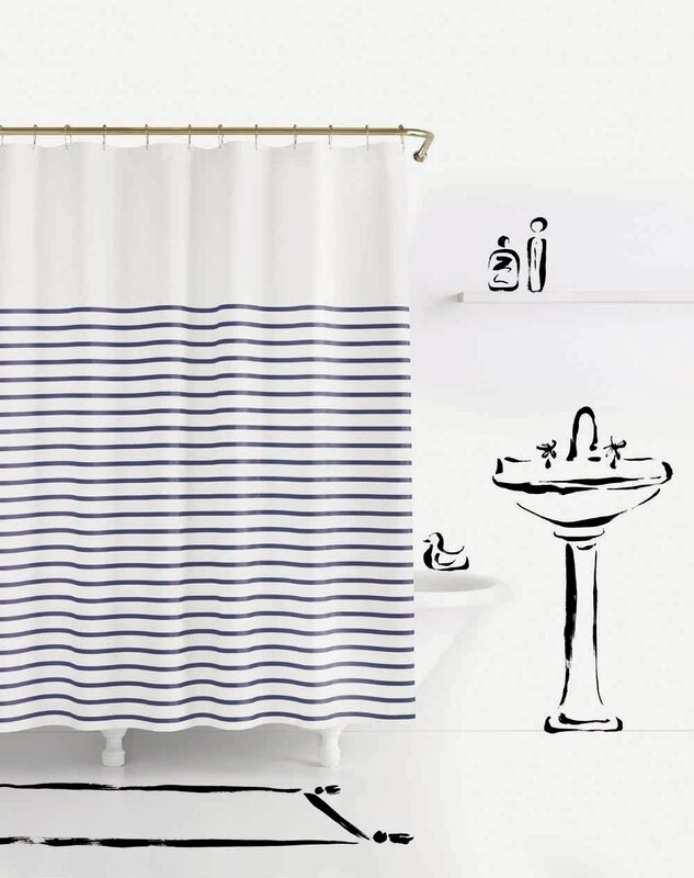 Awesome Charlotte Street Shower Curtain