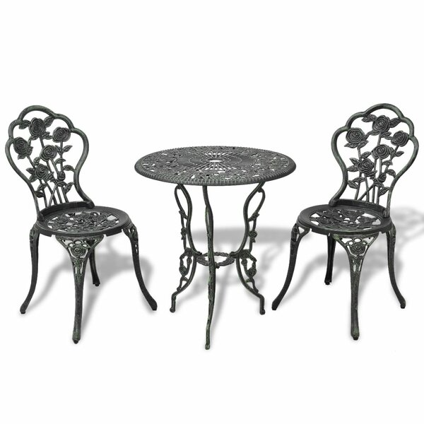 Tbridge 3 Piece Bistro Set by Charlton Home