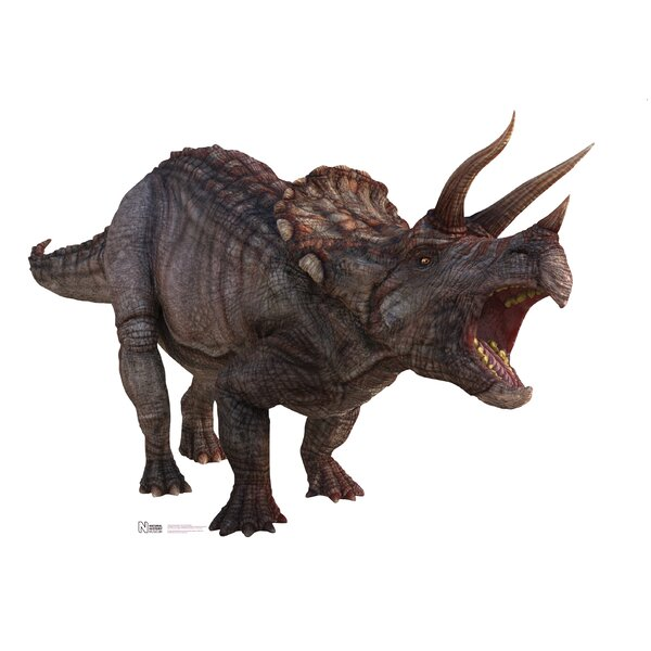 Triceratops Wall Decal by Advanced Graphics