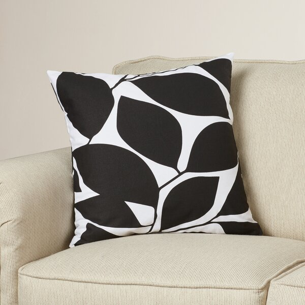 Cluff Square Cotton Throw Pillow by Mercury Row