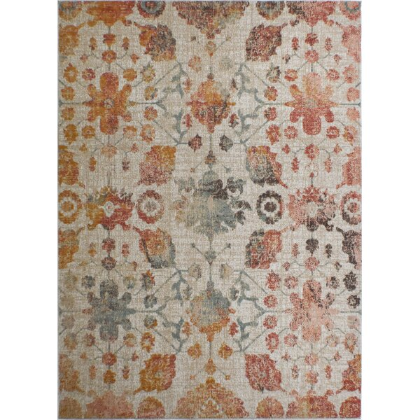 Julianna Brown/Beige Area Rug by Bungalow Rose
