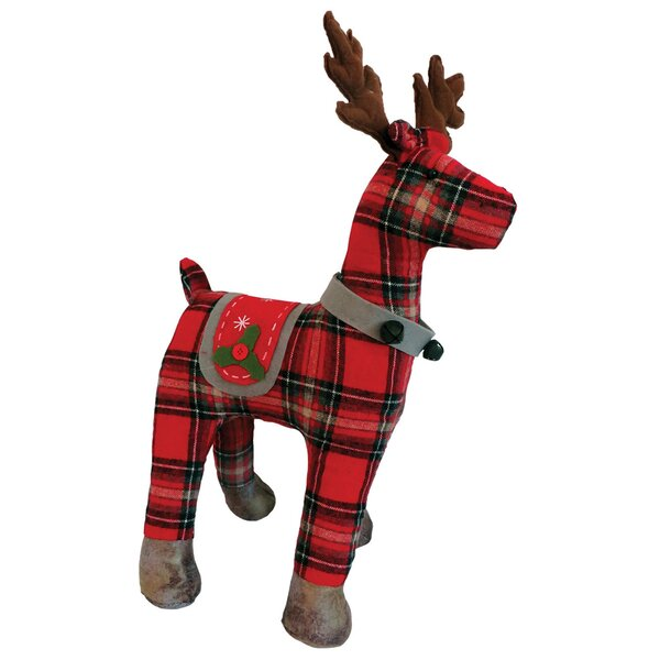Plaid Reindeer by The Holiday Aisle