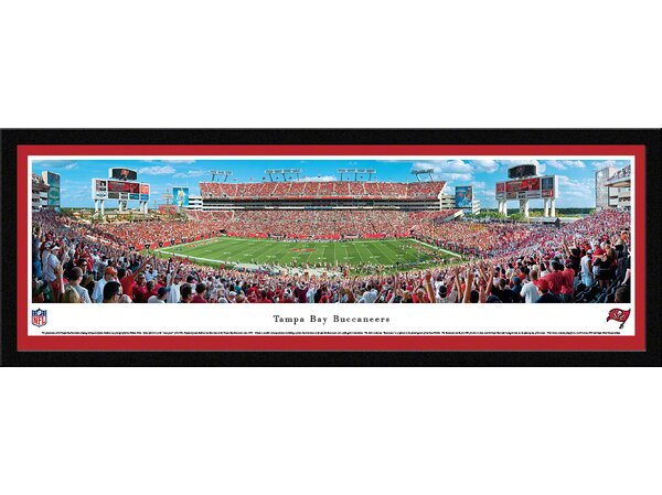 NFL Tampa Bay Buccaneers by Nathan Haler Framed Photographic Print by Blakeway Worldwide Panoramas, Inc