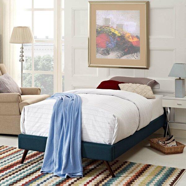 Beckett Dinwiddie Upholstered Platform Bed by Mistana