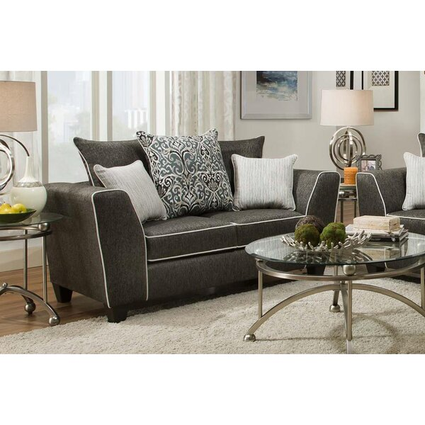 Teterboro Loveseat by Latitude Run