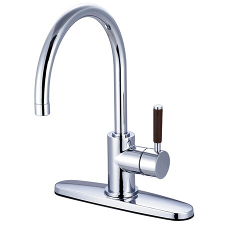 Wilshire Single Handle Kitchen Faucet by Kingston Brass