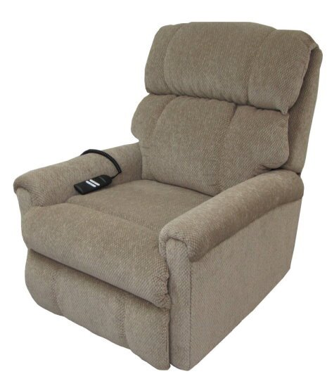 Free Shipping Regal Series Wide Leather Power Lift Assist Recliner