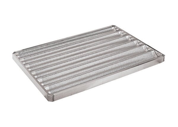 Perforated 6 Baguette Pan by Paderno World Cuisine